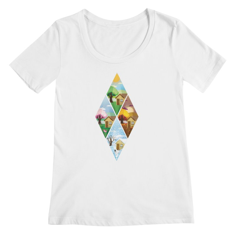 The Sims 4 Seasons - Seasonal-bob Women's Regular Scoop Neck by The Sims Official Threadless Store