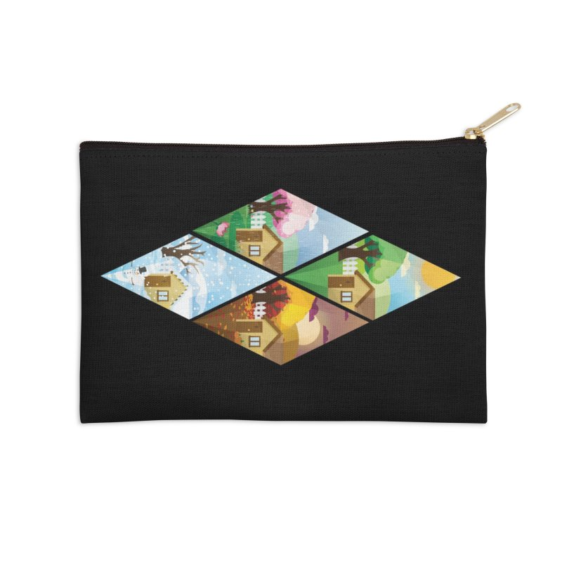 The Sims 4 Seasons - Seasonal-bob Accessories Zip Pouch by The Sims Official Threadless Store