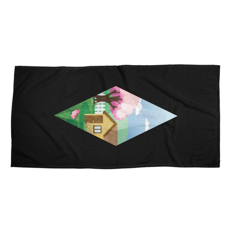 The Sims 4 Seasons - Spring-bob Accessories Beach Towel by The Sims Official Threadless Store