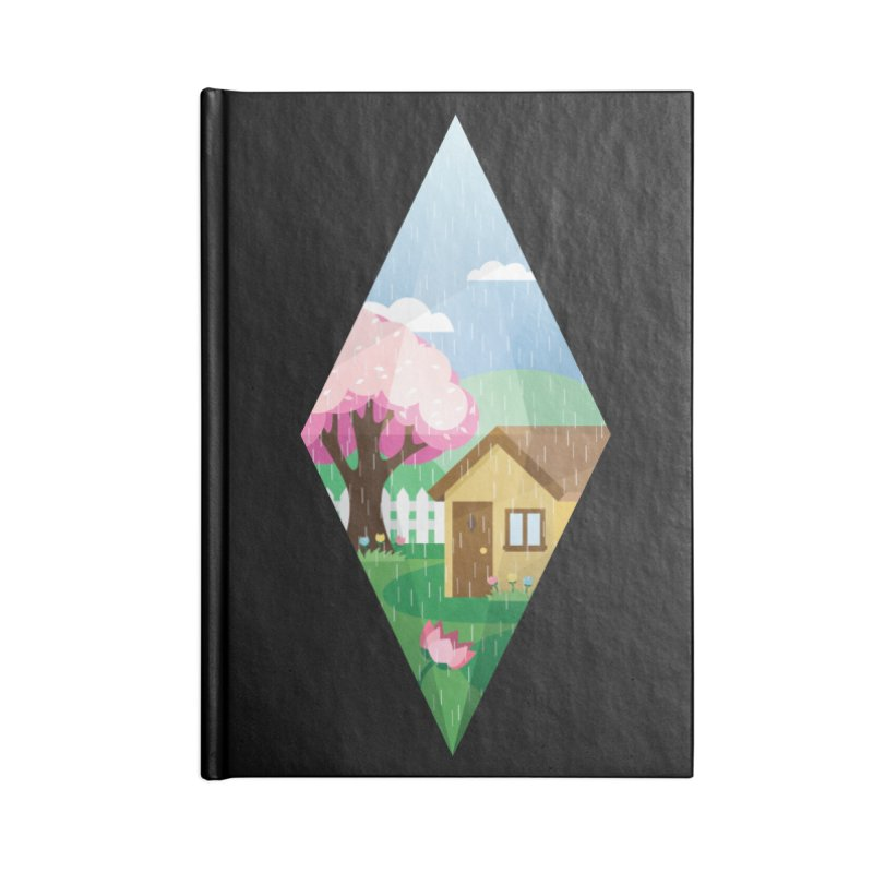 The Sims 4 Seasons - Spring-bob Accessories Blank Journal Notebook by The Sims Official Threadless Store