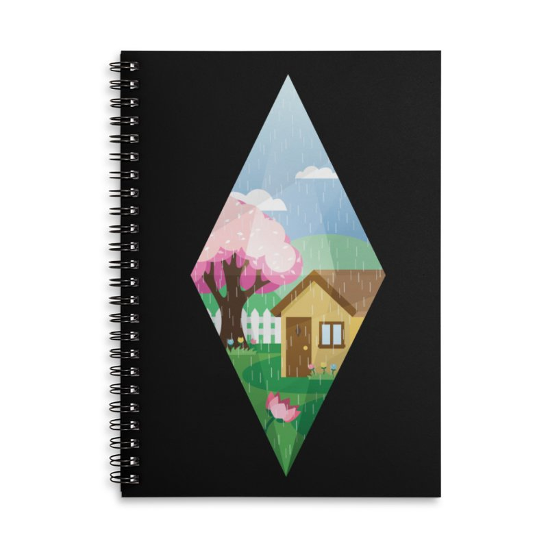 The Sims 4 Seasons - Spring-bob Accessories Lined Spiral Notebook by The Sims Official Threadless Store