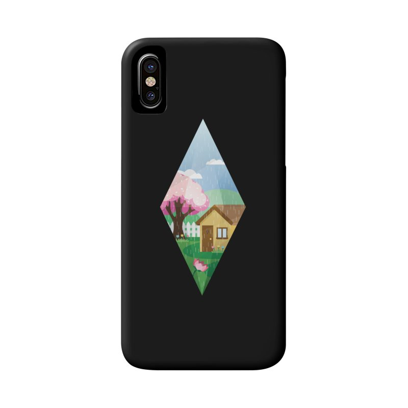 The Sims 4 Seasons - Spring-bob Accessories Phone Case by The Sims Official Threadless Store