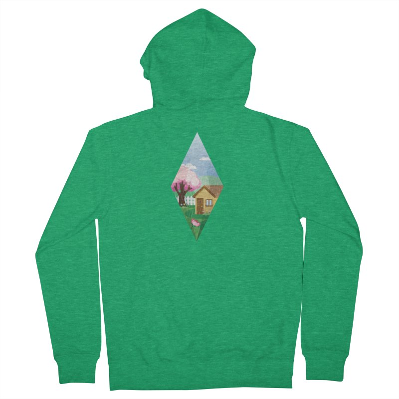 The Sims 4 Seasons - Spring-bob Women's Zip-Up Hoody by The Sims Official Threadless Store