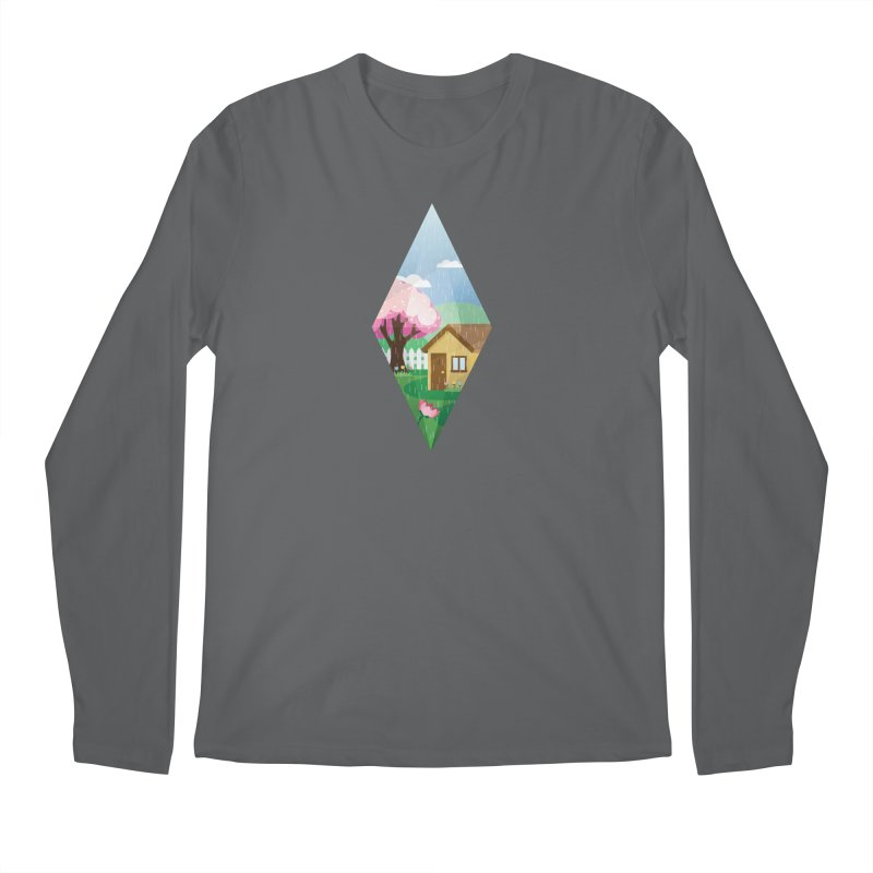 The Sims 4 Seasons - Spring-bob Men's Longsleeve T-Shirt by The Sims Official Threadless Store