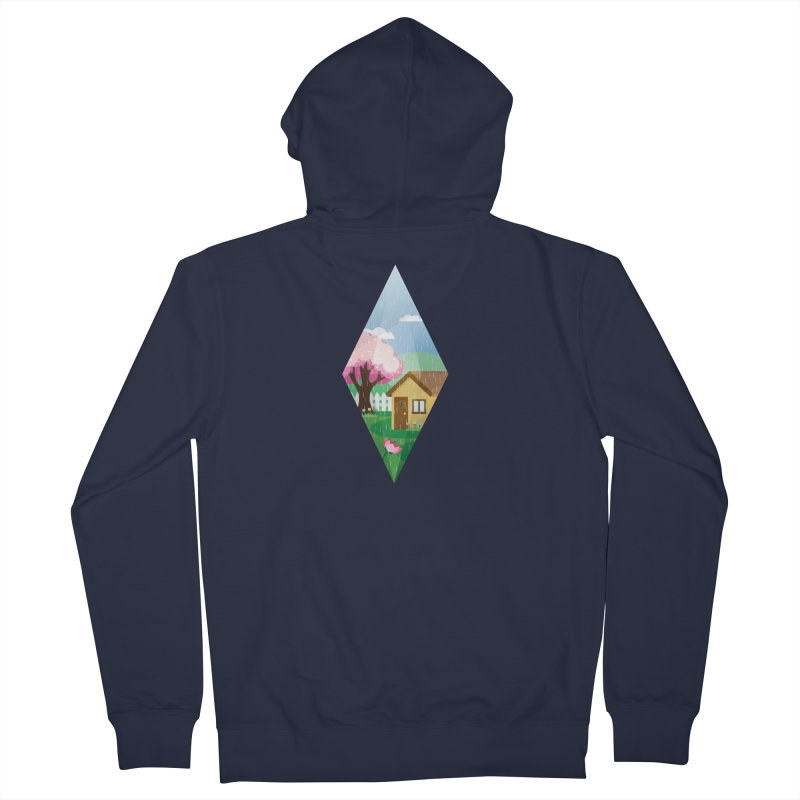 The Sims 4 Seasons - Spring-bob Women's French Terry Zip-Up Hoody by The Sims Official Threadless Store
