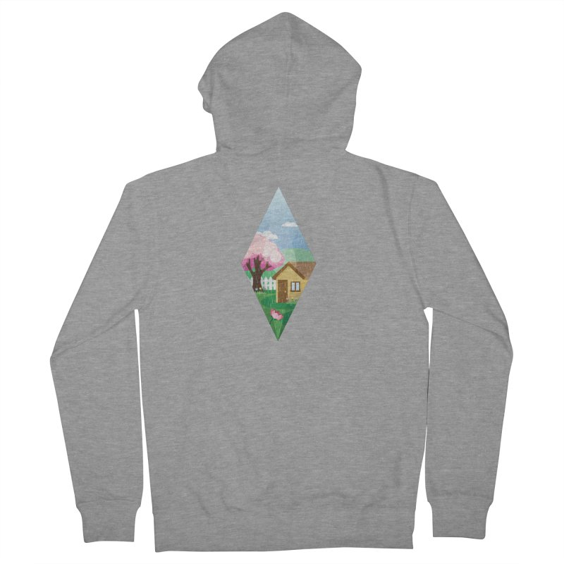 The Sims 4 Seasons - Spring-bob Men's Zip-Up Hoody by The Sims Official Threadless Store