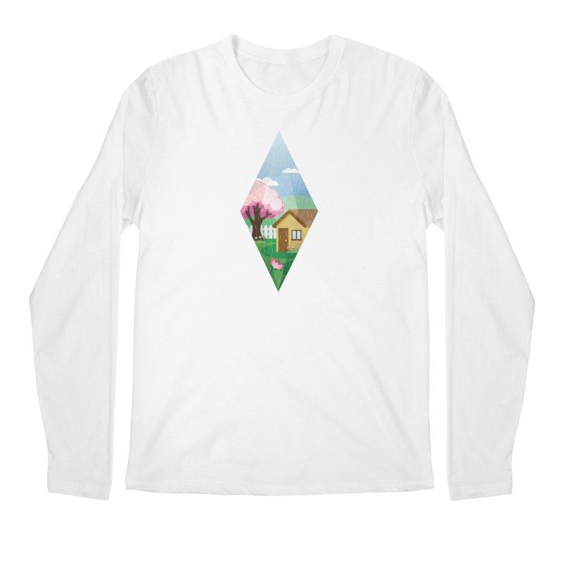 The Sims 4 Seasons - Spring-bob Men's Regular Longsleeve T-Shirt by The Sims Official Threadless Store