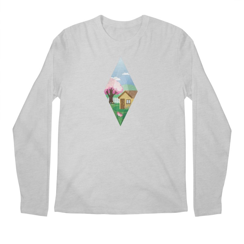 The Sims 4 Seasons - Spring-bob Men's Regular Longsleeve T-Shirt by The Sims Official Threadless Store