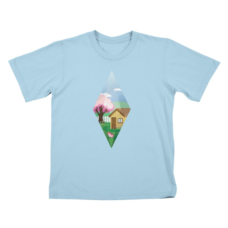 The Sims 4 Seasons - Spring-bob Kids T-Shirt by The Sims Official Threadless Store