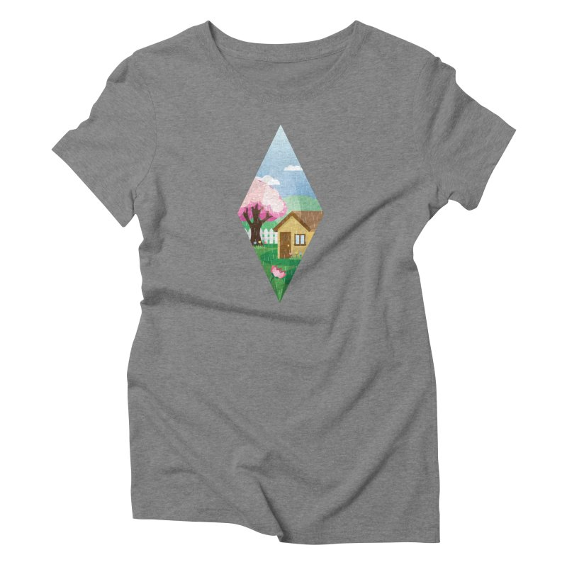The Sims 4 Seasons - Spring-bob Women's Triblend T-Shirt by The Sims Official Threadless Store