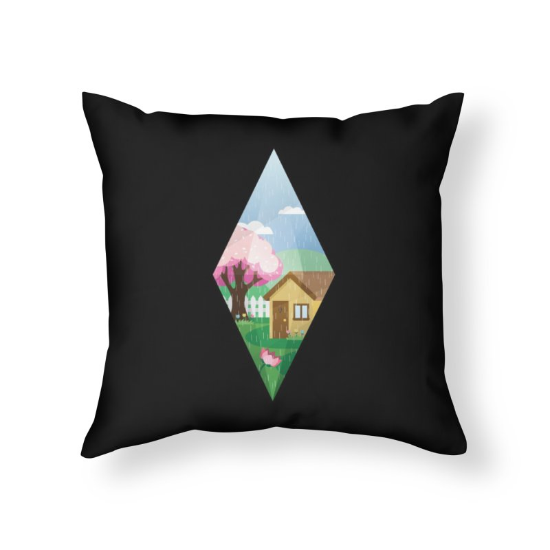 The Sims 4 Seasons - Spring-bob Home Throw Pillow by The Sims Official Threadless Store