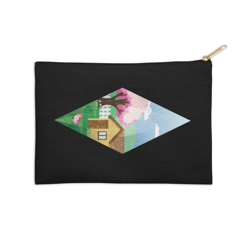 The Sims 4 Seasons - Spring-bob Accessories Zip Pouch by The Sims Official Threadless Store