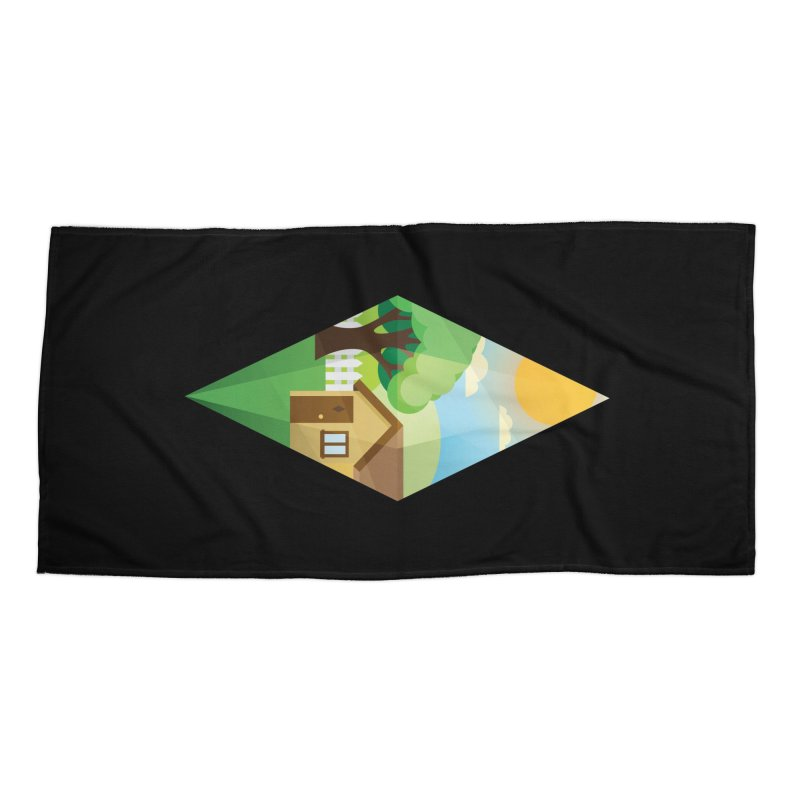The Sims 4 Seasons - Summer-bob Accessories Beach Towel by The Sims Official Threadless Store