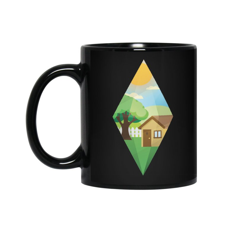 The Sims 4 Seasons - Summer-bob Accessories Standard Mug by The Sims Official Threadless Store