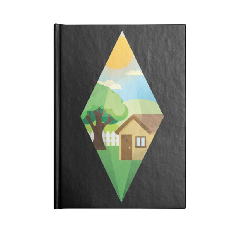 The Sims 4 Seasons - Summer-bob Accessories Lined Journal Notebook by The Sims Official Threadless Store