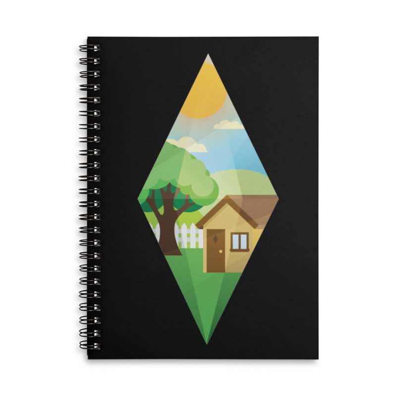 The Sims 4 Seasons - Summer-bob Accessories Lined Spiral Notebook by The Sims Official Threadless Store