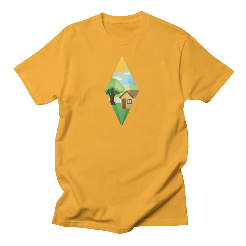 The Sims 4 Seasons - Summer-bob in Men's Regular T-Shirt Gold by The Sims Official Threadless Store