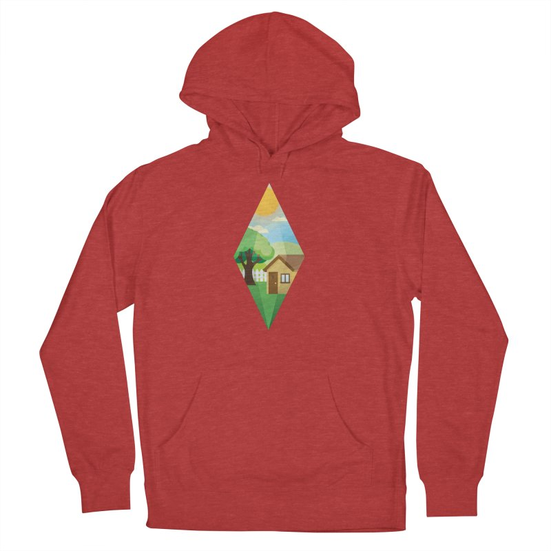 The Sims 4 Seasons - Summer-bob Men's French Terry Pullover Hoody by The Sims Official Threadless Store