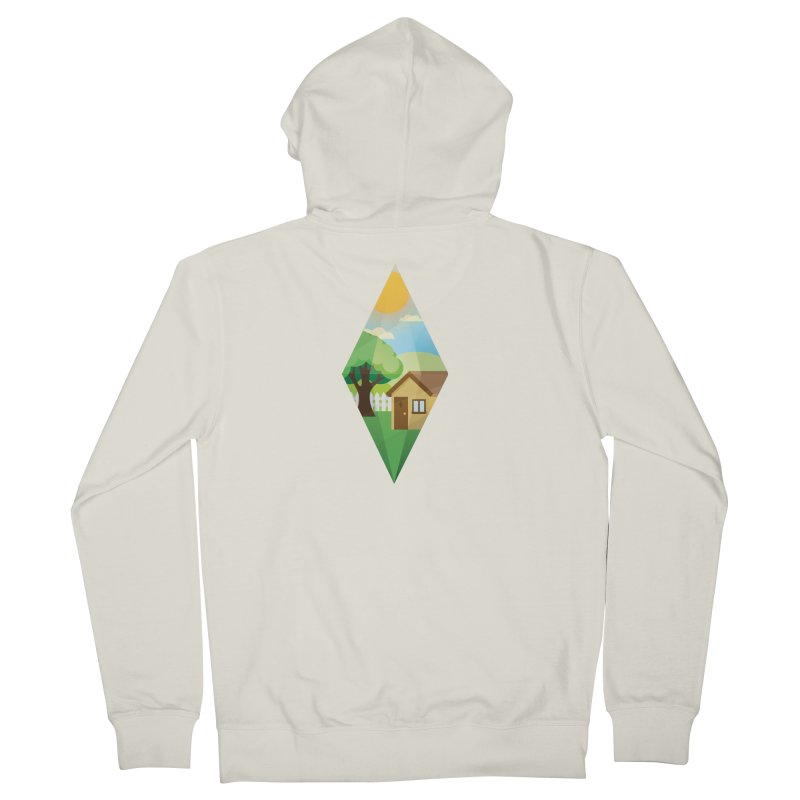 The Sims 4 Seasons - Summer-bob Men's French Terry Zip-Up Hoody by The Sims Official Threadless Store