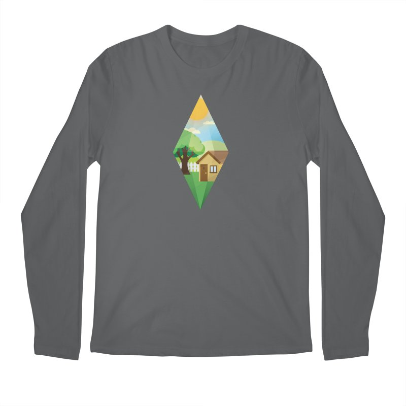 The Sims 4 Seasons - Summer-bob Men's Longsleeve T-Shirt by The Sims Official Threadless Store