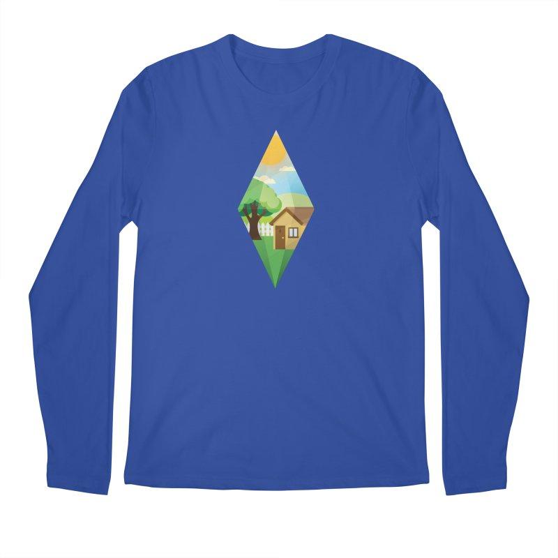 The Sims 4 Seasons - Summer-bob Men's Longsleeve T-Shirt by The Sims Official Threadless Store