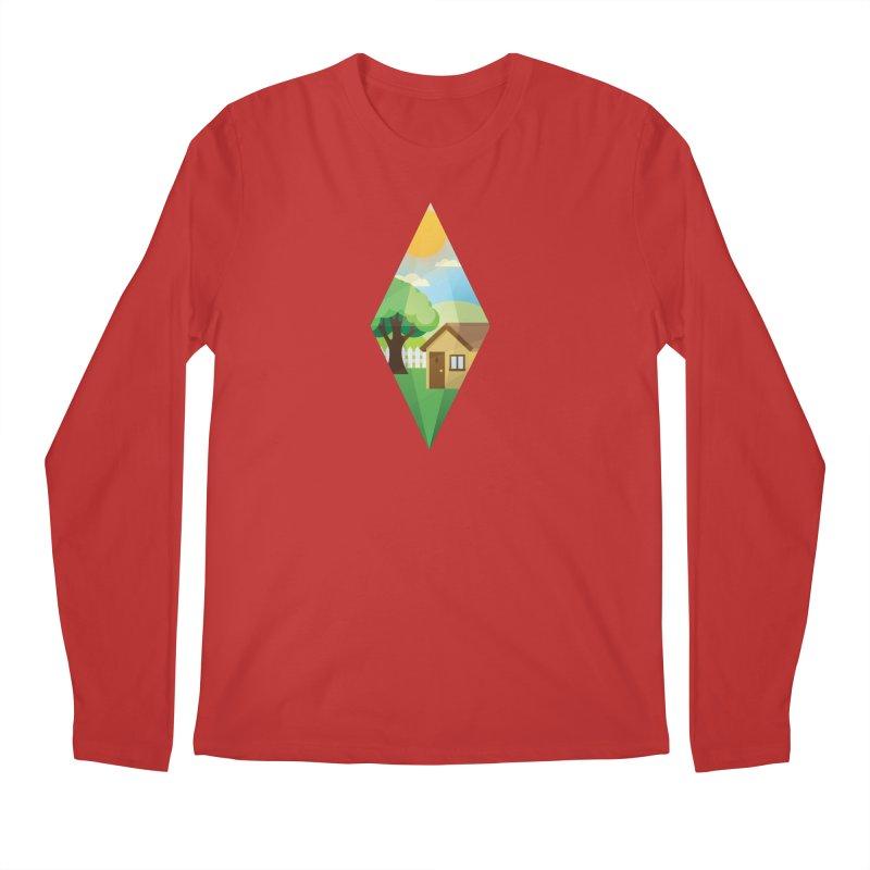 The Sims 4 Seasons - Summer-bob Men's Regular Longsleeve T-Shirt by The Sims Official Threadless Store