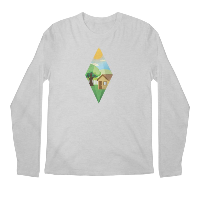 The Sims 4 Seasons - Summer-bob Men's Regular Longsleeve T-Shirt by The Sims Official Threadless Store