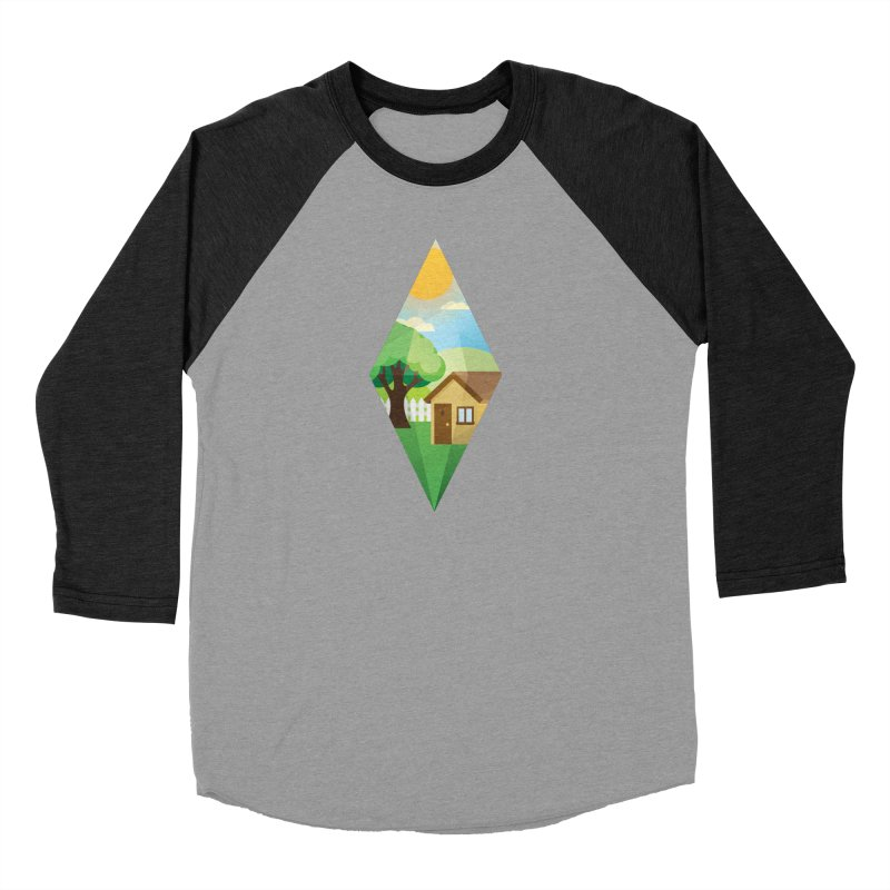 The Sims 4 Seasons - Summer-bob Women's Baseball Triblend Longsleeve T-Shirt by The Sims Official Threadless Store