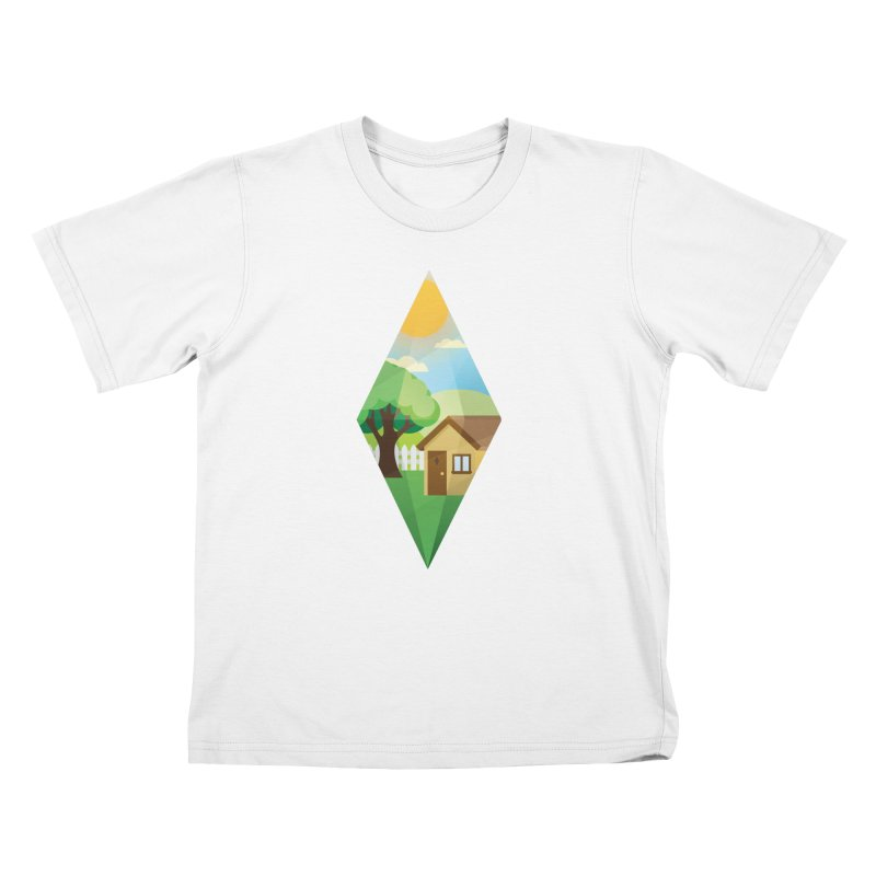 The Sims 4 Seasons - Summer-bob Kids T-Shirt by The Sims Official Threadless Store