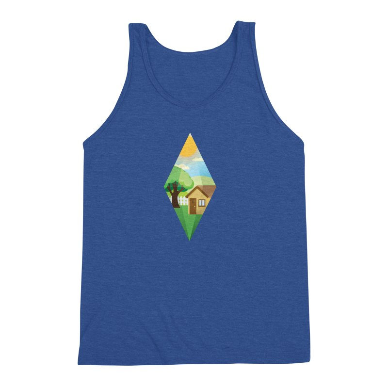 The Sims 4 Seasons - Summer-bob Men's Triblend Tank by The Sims Official Threadless Store