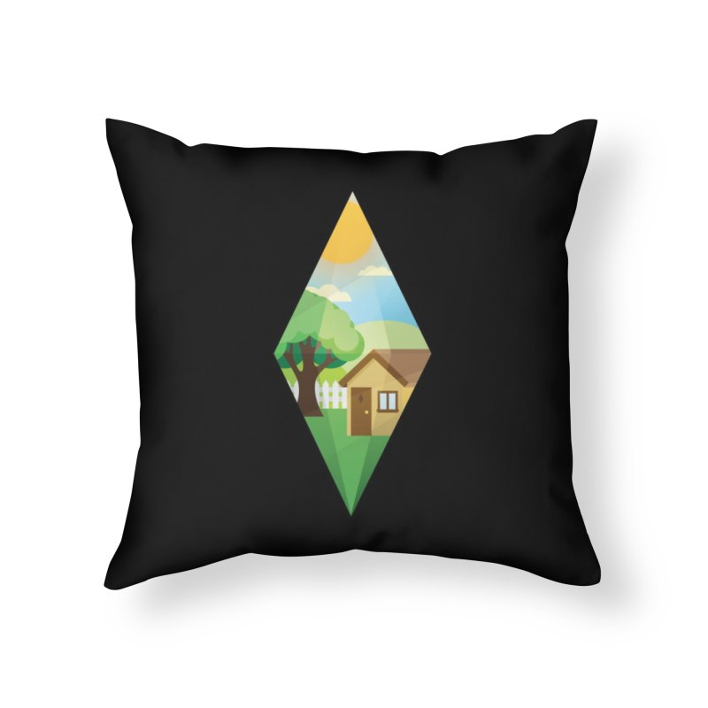 The Sims 4 Seasons - Summer-bob Home Throw Pillow by The Sims Official Threadless Store