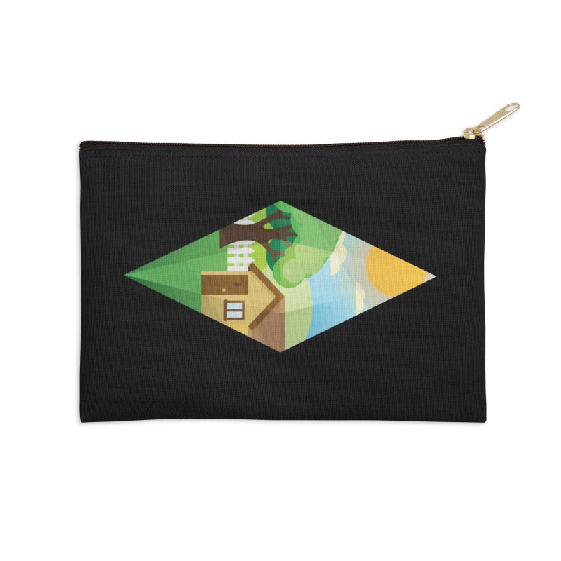 The Sims 4 Seasons - Summer-bob Accessories Zip Pouch by The Sims Official Threadless Store