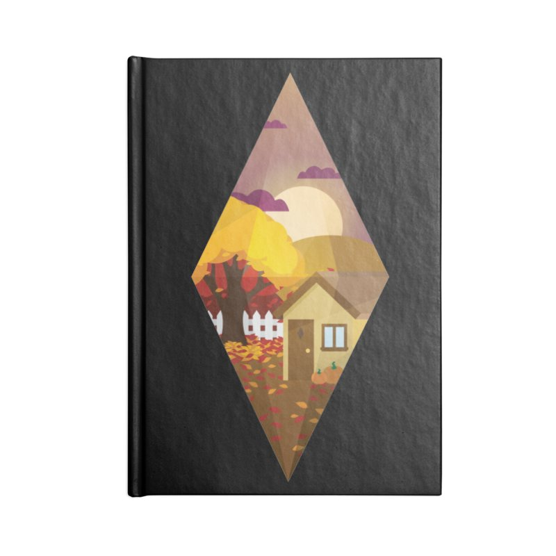 The Sims 4 Seasons - Fall-bob Accessories Lined Journal Notebook by The Sims Official Threadless Store
