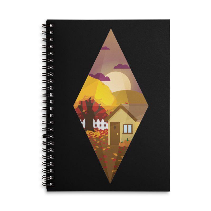 The Sims 4 Seasons - Fall-bob Accessories Lined Spiral Notebook by The Sims Official Threadless Store