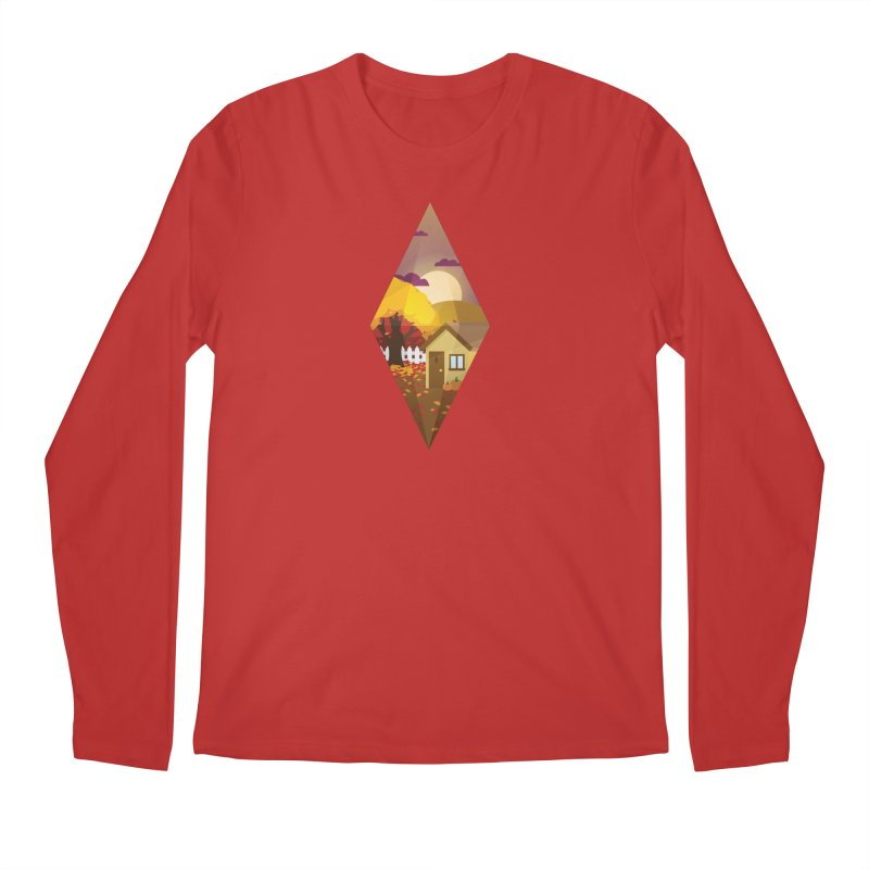The Sims 4 Seasons - Fall-bob Men's Regular Longsleeve T-Shirt by The Sims Official Threadless Store