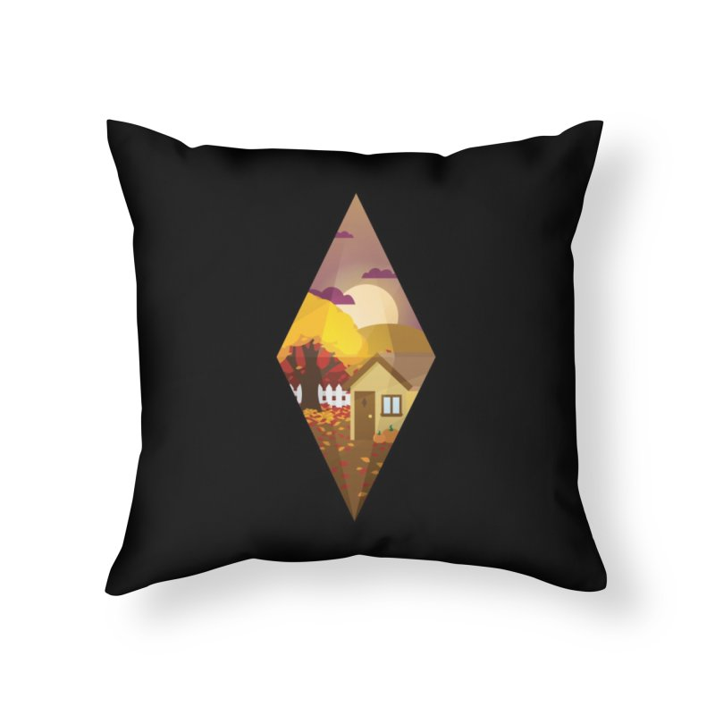 The Sims 4 Seasons - Fall-bob Home Throw Pillow by The Sims Official Threadless Store