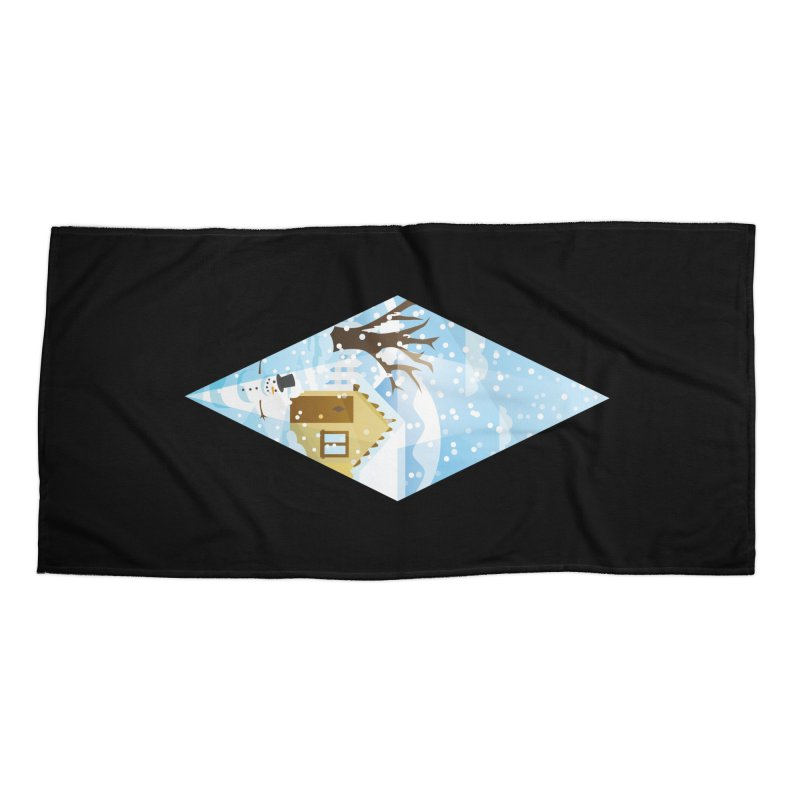The Sims 4 Seasons - Winter-bob Accessories Beach Towel by The Sims Official Threadless Store