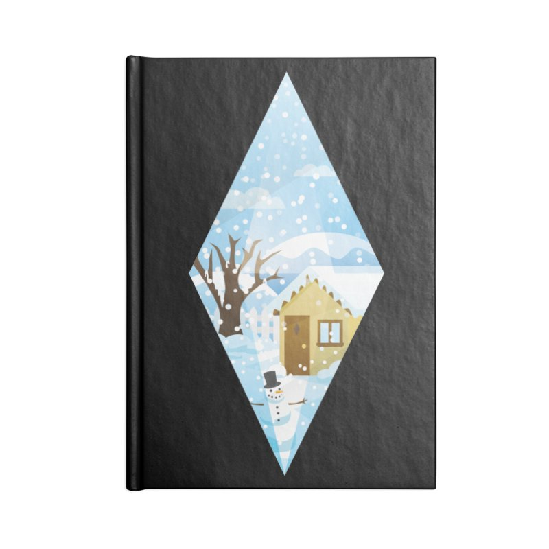 The Sims 4 Seasons - Winter-bob Accessories Blank Journal Notebook by The Sims Official Threadless Store