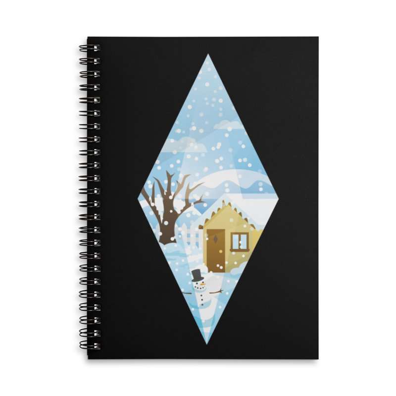 The Sims 4 Seasons - Winter-bob Accessories Lined Spiral Notebook by The Sims Official Threadless Store