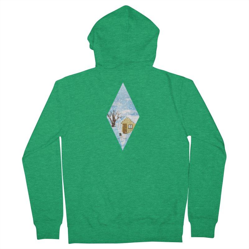 The Sims 4 Seasons - Winter-bob Women's Zip-Up Hoody by The Sims Official Threadless Store