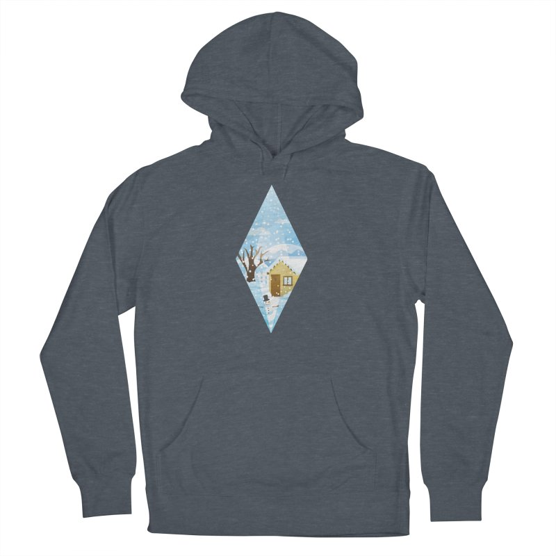 The Sims 4 Seasons - Winter-bob Men's French Terry Pullover Hoody by The Sims Official Threadless Store