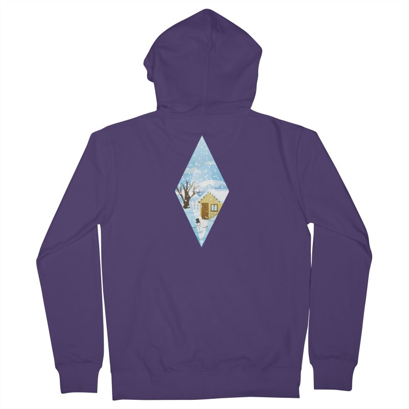 The Sims 4 Seasons - Winter-bob Women's French Terry Zip-Up Hoody by The Sims Official Threadless Store