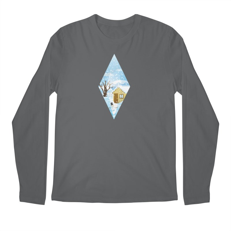 The Sims 4 Seasons - Winter-bob Men's Regular Longsleeve T-Shirt by The Sims Official Threadless Store