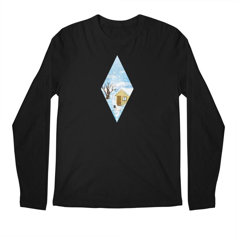 The Sims 4 Seasons - Winter-bob Men's Regular Longsleeve T-Shirt by The Sims Official Threadless Store