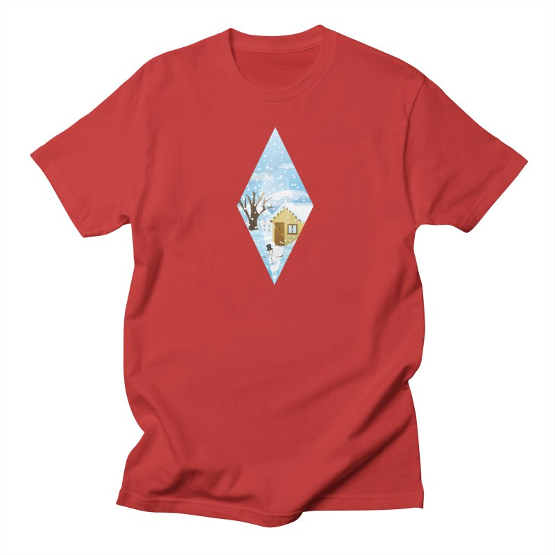 The Sims 4 Seasons - Winter-bob Men's T-Shirt by The Sims Official Threadless Store