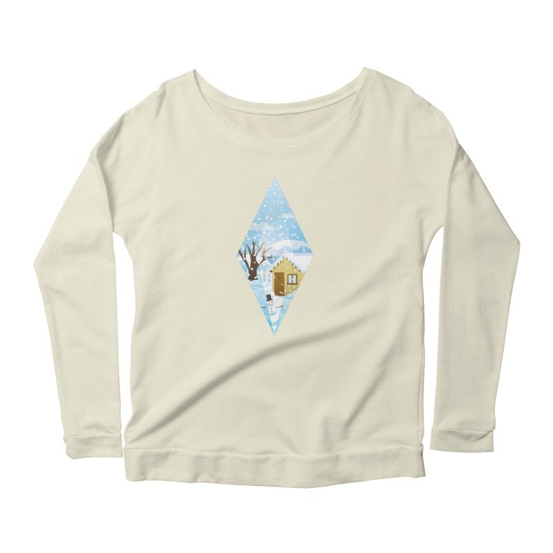 The Sims 4 Seasons - Winter-bob Women's Scoop Neck Longsleeve T-Shirt by The Sims Official Threadless Store