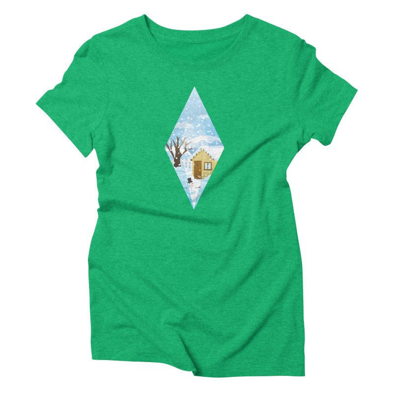 The Sims 4 Seasons - Winter-bob Women's Triblend T-Shirt by The Sims Official Threadless Store