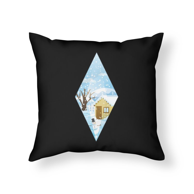 The Sims 4 Seasons - Winter-bob Home Throw Pillow by The Sims Official Threadless Store