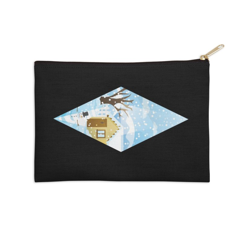 The Sims 4 Seasons - Winter-bob Accessories Zip Pouch by The Sims Official Threadless Store