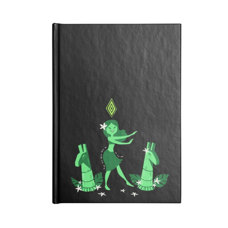 Sim-hula Green Accessories Lined Journal Notebook by The Sims Official Threadless Store